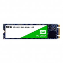 Unidad de Estado Solido SSD M.2 Western Digital WD Green 480GB, 545/545 MB/s, Sata III 6GB/s