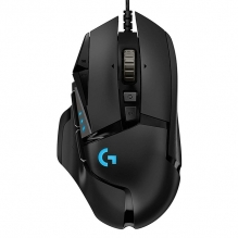 Mouse Logitech G502 Hero, Alámbrico, 16,000 DPI - 910-005550