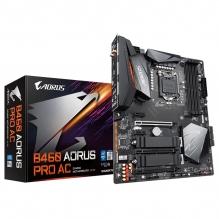 Tarjeta Madre Gigabyte B460 Aorus Pro AC, ATX, AM4, DDR4 2933Mhz, Dual M.2