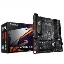 Tarjeta Madre Gigabyte B460M Aorus Elite, 10th Gen Intel, LGA1200, Micro-ATX, DDR4 2933Mhz, Dual M.2