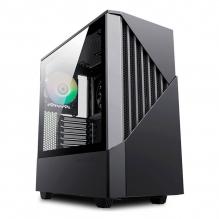 Gabinete Munfrost Panda Pro Black, E-ATX, Cristal Templado, 2 Ventiladores ARGB