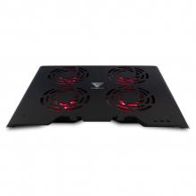 "Base Enfriadora para Laptop GameFactor CPG400, Hasta 17"", 4 Ventiladores de 120mm, RGB"