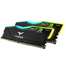Memoria RAM Teamgroup T-Force Delta RGB 16GB 2X8GB 3200Mhz Negra - TF3D416G3200HC16CDC01