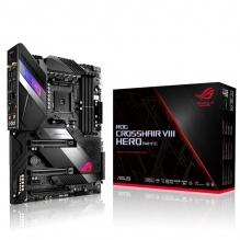 Tarjeta Madre Asus ROG Crosshair VIII Hero (WI-FI), AMD X570, AM4, ATX, DDR4 4800Mhz, Triple M.2, 8 Sata's, Crossfire, SLI, Aura Sync