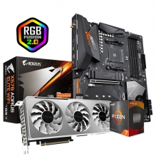 Combo de Actualizacion Gigabyte / AMD Ryzen 7 5800X / X570 Aorus Elite / RTX 3070 Vision OC