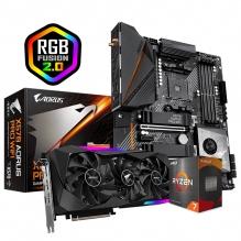 Combo de Actualizacion Gigabyte / AMD Ryzen 7 5800X / X570 Aorus PRO / RTX 3070 Aorus Master