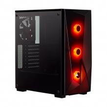 Gabinete Corsair Carbide Spec Delta RGB, Cristal Templado, 3 Ventiladores RGB, ATX - CC 9011166 WW
