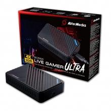 Capturadora de Video AVerMedia Live Gamer Ultra 4K HDR - GC553