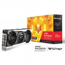 Tarjeta de video Sapphire Nitro + AMD Radeon RX 6700 XT 12GB GDDR6, AMD RDNA 2 - 11306-01-20G - (De venta exclusiva por transferencia electrónica o depósito bancario)