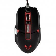 Mouse Riotoro Aurox Negro, Alámbrico, 10,000 DPI