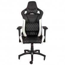 Silla Gamer Corsair T1 Race Gaming Chair — Black/White