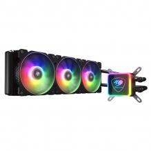 Enfriamiento Liquido Cougar Aqua 360 ARGB , 3 Ventiladores ARGB, radiador 360mm