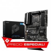 Tarjeta Madre MSI Z590-A PRO, 10-11 Gen Intel, DDR4 5333Mhz OC, ATX, Triple M.2, Crossfire