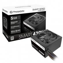 Fuente de Poder Thermaltake Smart 430w 80+ White - S-SPD-0430NPCWUS-W