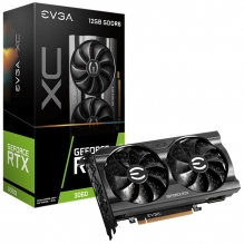 Tarjeta de video Nvidia EVGA Geforce RTX 3060 XC Gaming, 12GB GDDR6, Dual Fan, Metal Backplate - 12G-P5-3657-KR - (Venta exclusiva por transferencia electrónica o depósito bancario)