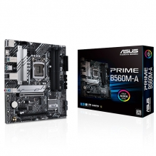 Tarjeta Madre Asus Prime B560M-A, 10-11 Gen Intel, LGA1200, Micro-ATX, DDR4 5000Mhz, M.2, Aura Sync