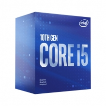 Procesador Intel Core i5 10400F, 6 Cores, 12 Threads, 12MB, 2.90Ghz/4.30Ghz, Socket 1200