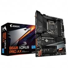Tarjeta Madre Gigabyte B560 Aorus Pro AX, 10-11 Gen Intel, ATX, LGA 1200, DDR4 5333Mhz, Dual M.2, Wi-Fi 6, Bluetooth 5.1, RGB Fusion 2.0