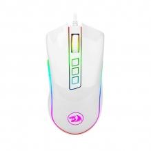 Mouse Gamer Redragon Cobra White M711W, RGB, Alámbrico, 10,000 DPI, 8 Botones Progamables, Pixart P3325 óptico