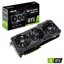 Tarjeta de video Nvidia Asus TUF Gaming Geforce RTX 3060 OC Edition, 12GB GDDR6, Aura Sync - TUF-RTX3060-O12G-GAMING - (Venta exclusiva por transferencia electrónica o depósito bancario).
