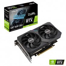 Tarjeta de video Nvidia Asus Dual Geforce RTX 3060 v2 OC Edition 12GB GDDR6, Aura Sync - DUAL-RTX3060-O12G-V2 - (Venta exclusiva por transferencia electrónica o depósito bancario).
