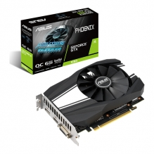 Tarjeta de Video Nvidia Asus Phoenix GeForce GTX 1660 OC Edition 6GB GDDR5 - PH-GTX1660-O6G - (Venta exclusiva por transferencia electrónica o depósito bancario).