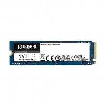 Unidad de Estado Solido SSD NVMe M.2 NV1 Kingston 500GB, 2,100/1,700 Mb/s, PCI Express 3.0 - SNVS/500G
