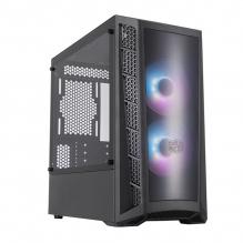 Gabinete Cooler Master MasterBox MB320L ARGB, Micro-ATX Cristal Templado, 2 Ventiladores - MCB-B320L-KGNN-S02
