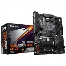 Tarjeta Madre Gigabyte B550 Aorus Elite AX V2, ATX, AM4, DDR4 4400Mhz OC, Dual M.2, Wi-Fi 6, Bluetooth 5, RGB Fusion 2.0