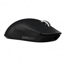 Mouse Logitech PRO X Superlight Negro, Lightspeed, Ultra Ligero, Inalámbrico, Sensor Hero 25K - 910-005879