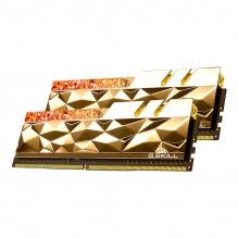 Memoria RAM G. Skill Trident Z Royal Elite Oro 16GB 2X8GB DDR4 4800MHZ CL19-28-28-48 1.50V - F4-4800C19D-16GTEGC