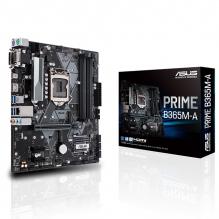 Tarjeta Madre Asus Prime B365M-A, 9na Gen Intel, LGA 1151, DDR4 2666Mhz, Micro-ATX, M.2