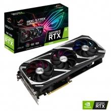 Tarjeta de video Nvidia Asus ROG Strix GeForce RTX 3060 OC Edition 12GB GDDR6 - ROG-STRIX-RTX3060-O12G-GAMING - (Venta exclusiva por transferencia electrónica o depósito bancario)