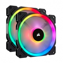 Ventiladores Corsair LL140 RGB Dual Light Twin W/inpro