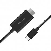 Adaptador Vorago USB Tipo C a HDMI, 4K, CAB-304