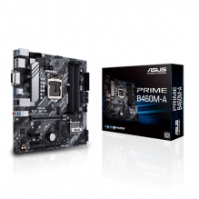 Tarjeta Madre Asus Prime B460M-A, 10th Gen. Intel, DDR4 2999Mhz OC, Micro-ATX, Doble M.2