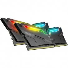 Memoria RAM Teamgroup Night Hawk RGB 16GB 2X8GB 3200MHZ Negra - TF1D416G3200HC16CDC01