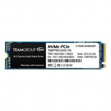 Unidad de Estado Solido SSD NVMe M.2 Teamgroup MP33 512GB, 1700/1400 MB/s, PCIe Gen3 x4 - TM8FP6512G0C101
