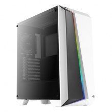 Gabinete Aerocool Cylon PRO RGB, Blanco, Cristal Templado