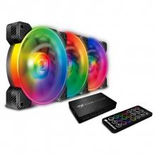 Ventiladores Cougar Vortex SPB RGB, 3x120mm