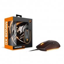 Mouse Cougar Minos XC / Mousepad Speed XC, Alámbrico, 4,000 DPI