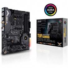 Tarjeta Madre Asus TUF Gaming X570-Plus (Wi-Fi), ATX, AM4, DDR4 4400Mhz OC, Dual M.2, Crossfire, Wifi, Bluetooth