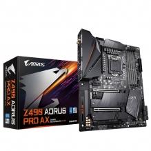 Tarjeta Madre Gigabyte Z490 Aorus Pro AX, 10th Gen. Intel, DDR4 5000Mhz OC, ATX, Doble M.2, Crossfire, SLI, Wi-Fi, Bluetoot