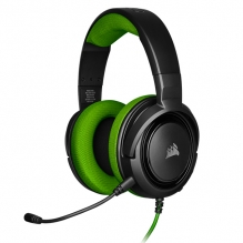 Diadema Corsair HS35 Verde, Alámbrico, 3.5mm, PC, PS4, Xbox One, Switch, Mobile Devices, Stereo -  CA 9011197 EU
