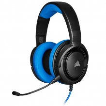 Diadema Corsair HS35 Azul, Alámbrico, 3.5mm, PC, PS4, Xbox One, Switch, Mobile Devices, Stereo - CA-9011196-NA