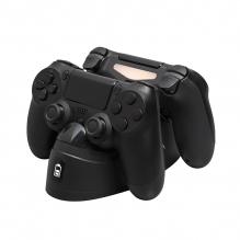 Centro de Carga HyperX ChargePlay Duo para controles PS4, HX-CPDU-A