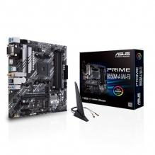 Tarjeta Madre Asus Prime B550M-A (Wi-Fi), Micro ATX, AM4, DDR4 4600Mhz OC, M.2, Bluetooth 5.1, Aura Sync