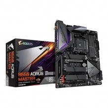 Tarjeta Madre Gigabyte B550 Aorus Master, ATX, AM4, DDR4 5200Mhz OC, M.2, WiFi, Bluetooth