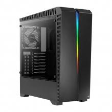 Gabinete Aerocool Scar RGB, Negro, Cristal Templado, ATX