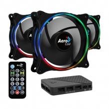 Ventiladores Aerocool Eclipse 12 Pro, 3x120mm, ARGB